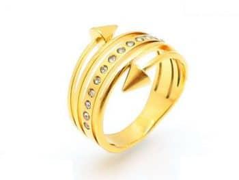 Prsteň KR82186-IL